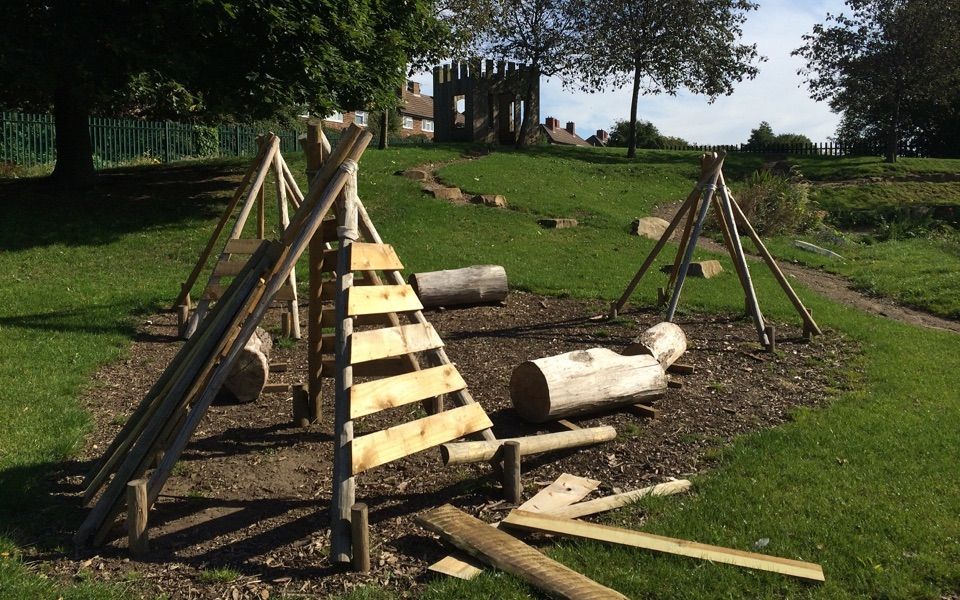 Construction Play Area | Crosseyfields